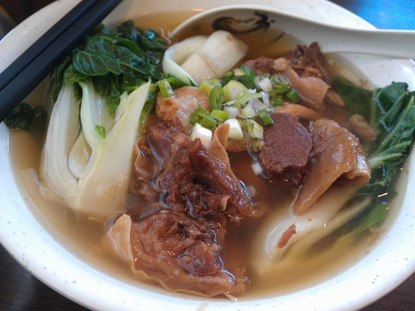Beef Stew Egg Noodle Soup