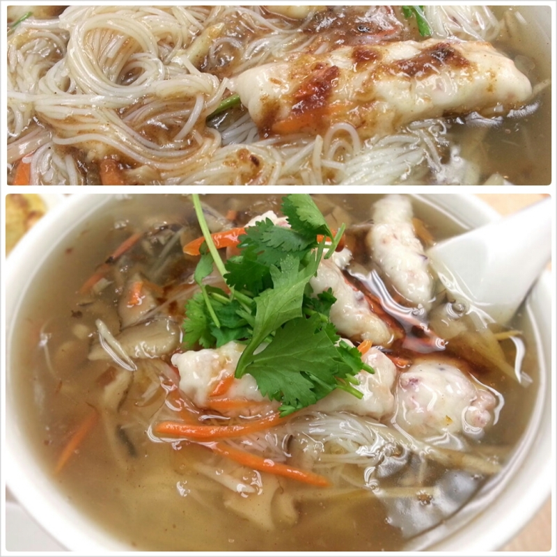 Forgot the name - Fish Vermicelli Noodle Soup